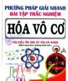 Phương pháp giải bài tập trắc nghiệm Hóa học