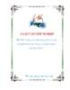 luận văn: nâng cao chất lượng dịch vụ của bộ phận lễ tân tại công ty cổ phần khách sạn Kim Liên