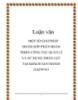 Luận văn: MỘT SỐ GIẢI PHÁP NHẰM GÓP PHẦN HOÀN THIỆN CÔNG TÁC QUẢN LÍ VÀ SỬ DỤNG NHÂN LỰC TẠI KHÁCH SẠN HANOI DAEWOO