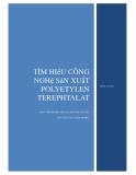 Tiểu luận:Tìm hiểu công nghệ sản xuất polyetylen terephtalat