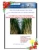 Tiểu luận:Vai trò chất trao đổi ion trong làm sạch nước mía