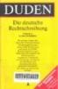 Duden: Rechtschreibung, Duden band 1. -- 1st ed
