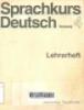 Sprachkurs deutsch: Lehrerheft Ulrich Haussermann...(et all) Neufassung4