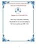 Luận văn: Thực trạng và giải pháp e-marketing (tiếp thị điện tử) cho các doanh nghiệp tại Việt Nam trong thời gian 2008 – 20120