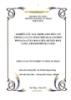NGHIÊN CỨU XÁC ĐỊNH AXIT HỮU CƠ  TRONG LÁ CÂY SỐNG ĐỜI (KALANCHOE  PINNATA) Ở XÃ HOÀ LIÊN, HUYỆN HOÀ  VANG, THÀNH PHỐ ĐÀ NẴNG