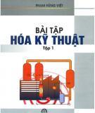 Ebook Bài tập Hóa kỹ thuật: Tập 1