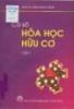 Ebook Cơ sở Hóa học hữu cơ: Tập 1