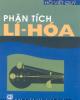 Ebook Phân tích Lí - Hóa
