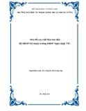 Giáo trình môn Bố cục chất liệu Sơn dầu - ThS. Nguyễn Thị Trang Ngà (biên soạn)