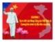 Bài giảng về Đường lối cách mạng của Đảng cộng sản Việt Nam