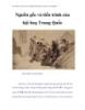 Thư pháp và hội họa Trung Quốc - Nguồn gốc và tiến trình của hội hoạ Trung Quốc