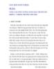 """SÁNG KIẾN KINH NGHIỆM ĐỀ TÀI :""""NÂNG CAO CHẤT LƯỢNG GIẢNG DẠY CHUYÊN SÂU KHỐI 4 – 5 TRONG TRƯỜNG TIỂU HỌC"""""""