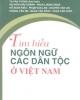 Tìm hiểu ngôn ngữ các dân tộc ở Việt Nam - NXB Khoa học xã hội