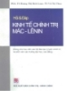 Hỏi và đáp Kinh tế chính trị Mác - Lênin