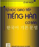 Tự học tiếng Hàn cơ bản - Lê Duy Khoa