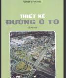 Thiết kế đường ô tô T1 - Đỗ Bá Chương