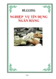 Đề cương Nghiệp vụ tín dụng ngân hàng