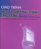 Giáo trình Hệ các chương trình ứng dụng (Windows, Word, Excel) - Tô Văn Nam
