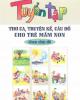 Ebook Tuyển tập thơ ca, truyện kể, câu đố cho trẻ mầm non theo chủ đề