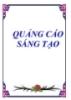 Quảng cáo sáng tạo - Nguyễn Nam Trung