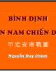 Bình Định An Nam chiến đồ - Nguyễn Duy Chính