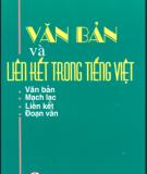 Văn bản và liên kết trong Tiếng Việt - Diệp Quang Ban