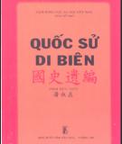 Quốc sử di biên - Phan Thúc Trực