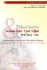 Giáo trình Nhập môn khoa học thư viện thông tin - Bộ Giáo dục và Đào tạo