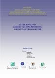 Sổ tay Hướng dẫn đánh giá tác động môi trường cho đồ án quy hoạch đô thị - Bộ Xây dựng