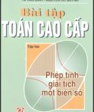 Ebook Bài tập Toán cao cấp Tập 2: Phép tính giải tích một biến số - Nguyễn Đình Trí
