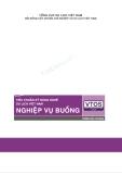 Tiêu chuẩn kỹ năng nghề du lịch Việt Nam: Nghiệp vụ buồng - Phần 1