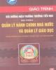 Giáo trình Bồi dưỡng hiệu trưởng trường Tiểu học: Học phần 2 - Nxb.Hà Nội