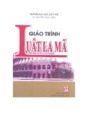 Giáo trình Luật La Mã - TS. Nguyễn Ngọc Điện