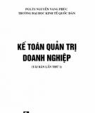 Kế toán quản trị doanh nghiệp: Phần 1 - PGS.TS. Nguyễn Năng Phúc