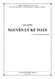 Giáo trình Nguyên lý kế toán - TS Nguyễn Khắc Hùng