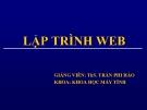 Bài giảng Lập trình Web: Chương 1 - Ths. Trần Phi Hảo