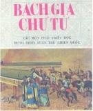 Ebook Bách gia Chư tử - Trần Văn Hải Minh