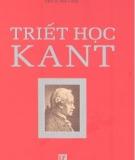 Ebook Triết học Kant - Nxb. Văn hóa thông tin