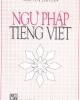Giáo trình Ngữ pháp Tiếng Việt - GS. Nguyễn Tài Cẩn