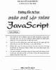 Ebook Hướng dẫn tự học ngôn ngữ lập trình JavarScript: Phần 2 - ThS. Nguyễn Nam Thuận