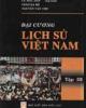 Giáo trình Đại cương Lịch sử Việt Nam - Tập 3: Phần 1 - Lê Mậu Hãn (chủ biên)