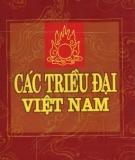 Ebook Các triều đại Việt Nam - NXB. Thanh niên