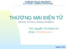 Bài giảng Thương mại điện tử: Chương 1 - ThS. Nguyễn Thị Khánh Chi