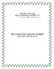Đề cương ôn tập tốt nghiệp môn: Thủ tục hải quan - CĐ Tài Chính Hải Quan
