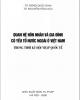 Ebook Quan hệ hôn nhân và gia đình có yếu tố nước ngoài ở Việt Nam trong thời kì hội nhập quốc tế: Phần 1 - TS. Nông Đức Bình, TS. Nguyễn Hồng Bắc