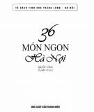 Ebook 36 món ngon Hà Nội: Phần 1 - Quốc Văn