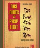 Ebook Nhà nước và pháp luật thời phong kiến Việt Nam: Phần 1 - Bùi Xuân Đính