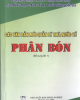 Ebook Các văn bản mới quản lý nhà nước về phân bón: Phần 2 - NXB Nông nghiệp