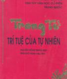 Ebook Trang tử - Trí tuệ của tự nhiên - NXB Đồng Nai