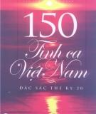 Ebook 150 tình ca Việt Nam đặc sắc thế kỷ 20 - NXB Thanh niên
